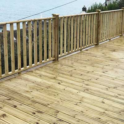Redwood Decking Plymouth